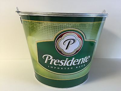 Presidente Imported Beer 5 Quart Ice Bucket - One (1) NEW & Free Shipping