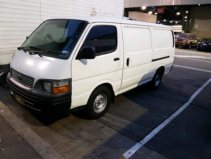 Toyota hiace Automatic diesel SOLD