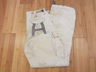 Men's G Star cargo pants Light Camouflage size 30 x 32