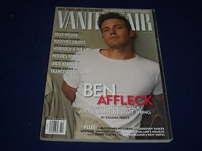 1999 OCTOBER VANITY FAIR MAGAZINE - BEN AFFLECK - SP 4372