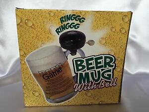 BEER MUG WITH BELLS - PARTY GAME FOR BOYS Brighton East Bayside Area Preview