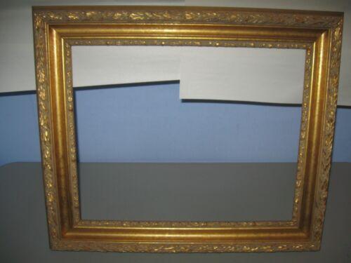 "Antique Vintage / Gold Picture Frame Large Excellent 16"" x 20"" x 7/16 depth"