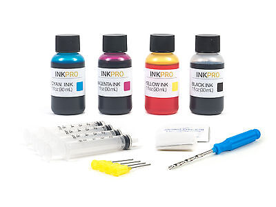 InkPro Premium Combo Ink Refill Kit for Canon PG-245/245XL CL-246/246XL 30mL/1oz