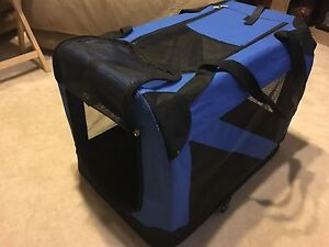 Collapsible pet travel kennel