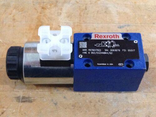 Bosch Rexroth Directional Solenoid Valve 4WED62/EG24N9K4/62