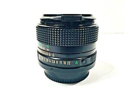 Canon FD f/1.4 50mm FAST / Mirrorless Lens / Canon SLR A-1 AE-1 F-1
