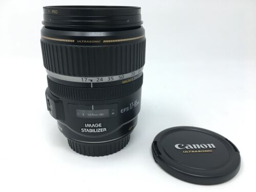 Canon EF-S 17-85mm f/4-5.6 IS USM Lens    -  3889