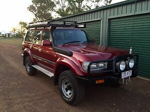 80 series 1HDT FT  Landcruiser wagon Dalby Dalby Area Preview