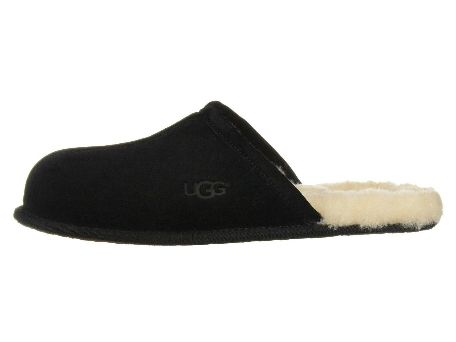 UGG Men's SCUFF Casual Comfort Suede Slip On Slippers BLACK 1101111