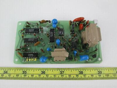 Circuit Board For Bicron Radiation Geiger Counter Meter Device Rca Sprague Sku O