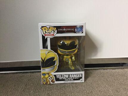 Wanted: Yellow Ranger Pop Vinyl