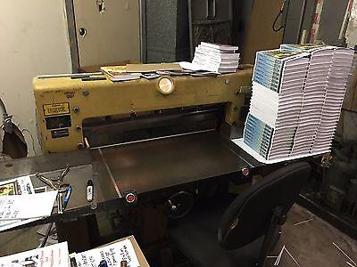 Challenge Paper Cutter Model 305 Mb
