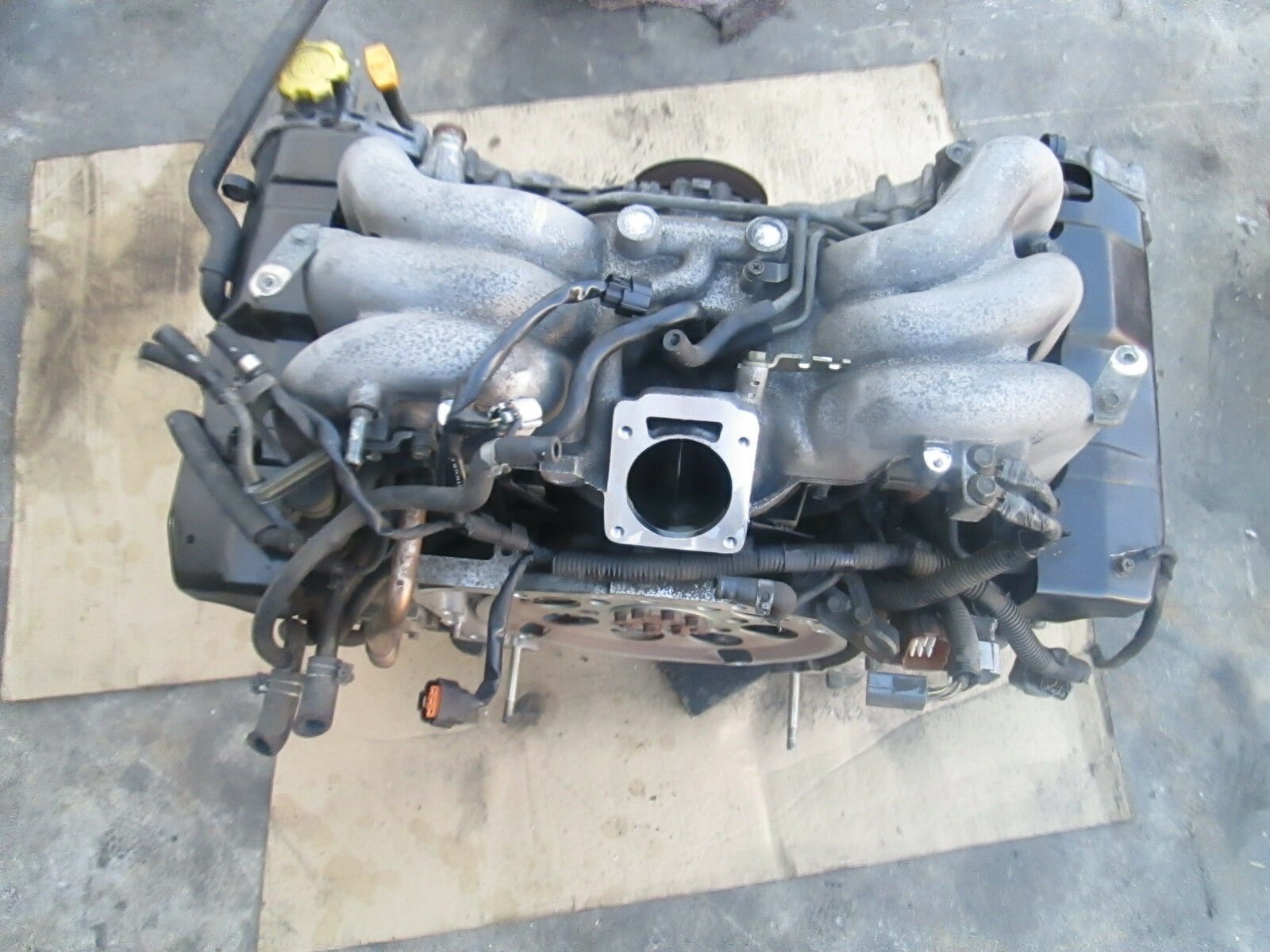01 02 03 04 Subaru Legacy Outback Engine Oem  H6 3 0l  Pick Up Only    Ej30  89k