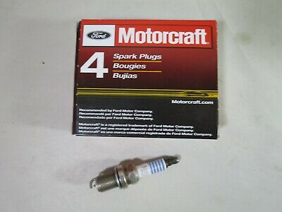 MOTORCRAFT SP-468 PLATINUM SPARK PLUGS Set Of 4 Plugs