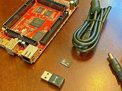 Learn Embedded Linux A20 4gb Arm Dev Board Wifi 2gb Sd Card Power Supply