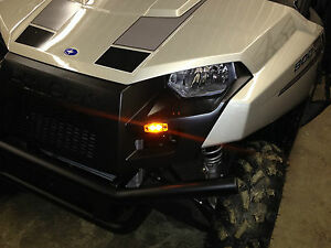 HIGH-VISIBILITY-LED-Turn-Signal-Light-Kit-w-HORN-Polaris-Ranger-900-XP