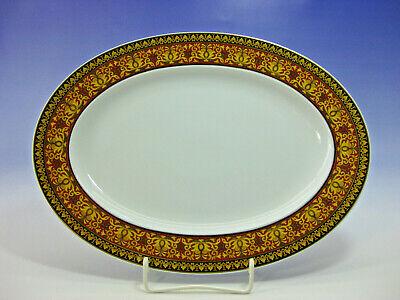 Rosenthal Versace  Medusa Platte oval Top Zustand ca. 34 x 25 cm