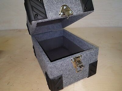 """NEW 7"""" inch record box singles case, northern soul collection    FREE POSTAGE."""
