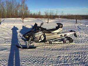 Looking to trade. 2015 Polaris Assault 800. Barely used
