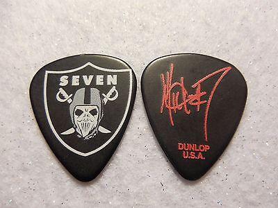 GUITAR PICK   Mick Thomson - Slipknot tour issue guitar pick Raiders No Lot   MR
