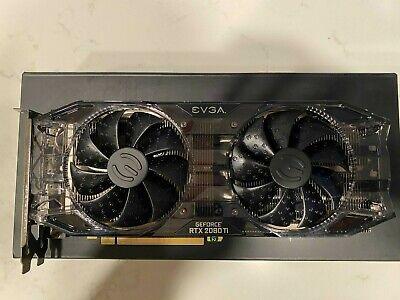 EVGA NVIDIA GeForce RTX 2080 Ti 11GB GDDR6 Graphics card (11G-P4-2281-KR)