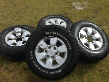 Toyota Hilux rims and tyres Uralla Uralla Area Preview