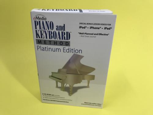 emedia piano and keyboard method platinum edition