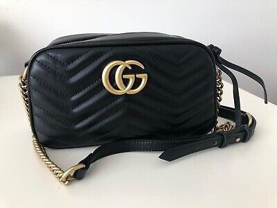 Gucci GG 'Marmont' Small Matelasse Hand bag - Excellent Condition