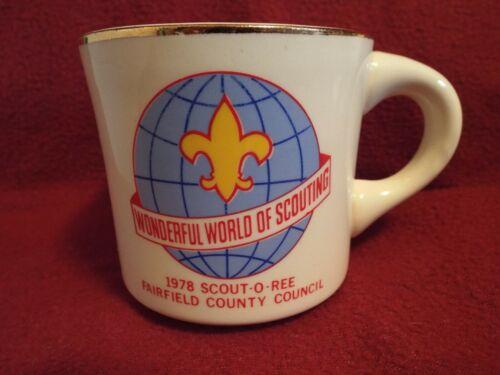 Wonderful World of Scouting 1978 Scout-O-Ree Boy Scouts of America Coffee Mug