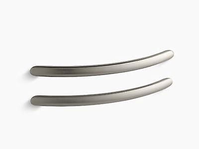Kohler 9669-BN Riverbath Grip Rails, Vibrant Brushed Nickel