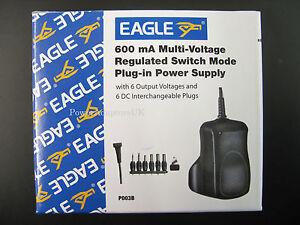 AC-DC-POWER-ADAPTOR-SUPPLY-PSU-CHARGER-500MA-600MA-3V-4-5V-5V-6V-7-5V-9V-12V-REG