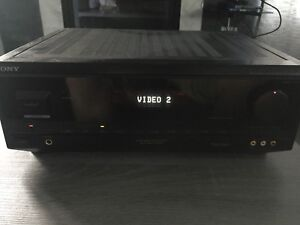 Sony FM stereo/FM-AM Receiver