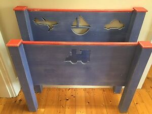 Children's single bed, bookshelf and toy box Northbridge Willoughby Area Preview