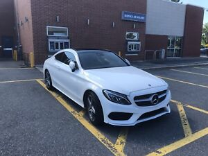 Mercedes c300 coupe 4matic 2017