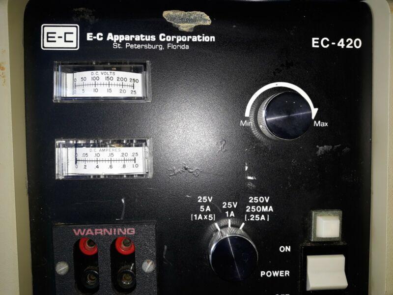 E-C Apparatus Electrophoresis Power Supply Model EC-420