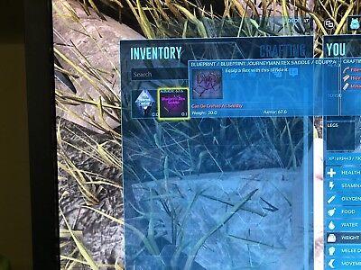 Ark Survival Evolved Xbox One PVE Proper JM Rex Saddle BP