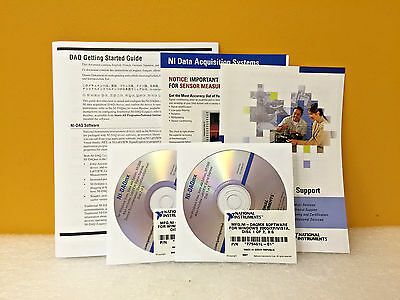 National Instruments 778837t-031 Ni-daqmx Documentation Software Kit New