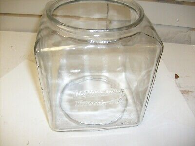 VINTAGE EMBOSSED NORTHWESTERN GUMBALL MACHINE GLASS GLOBE
