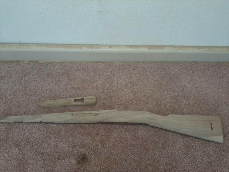 1894 /14 Swedish Mauser rifle stock and handguard walnut  ( wood ONLY )