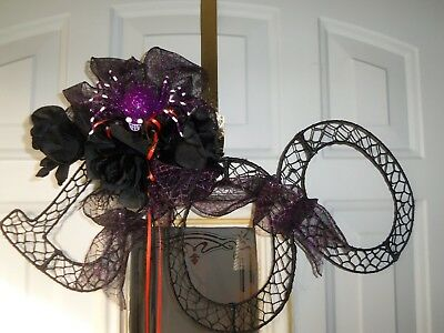 Halloween Door Hanging Crafts (Halloween Black
