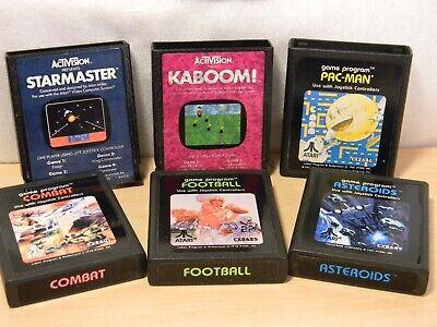 Atari 2600 Game Assortment Pac Man +