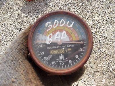 International 300 Utility Tractor Original Ih Ihc Tachometer Tach
