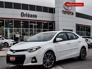 2015 Toyota Corolla S/ upgrade package