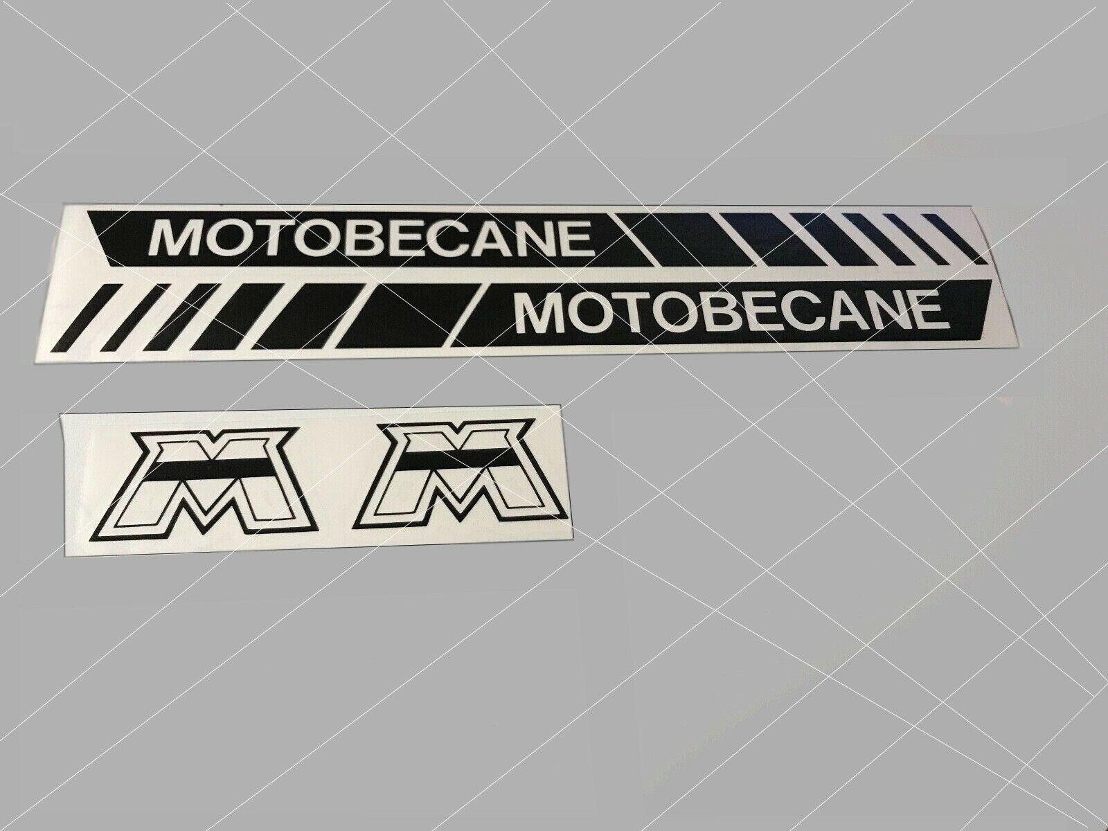 AUTOCOLLANTS CADRE RESERVOIR MOTOBECANE+M .MOTOBECANE Mbk 51 motobecane