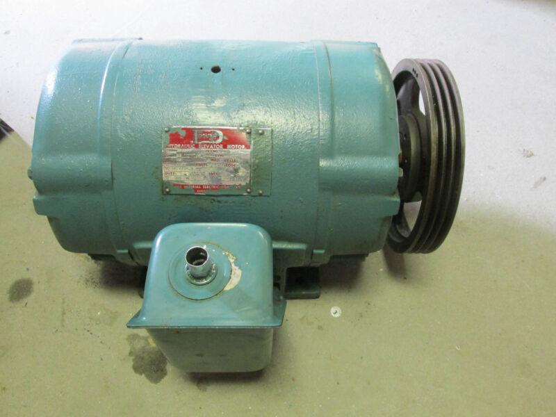 * Dover Hydraulic Elevator Motor 1750rpm, 20Hp, 230/460V Cat# 386859 .. VB-2