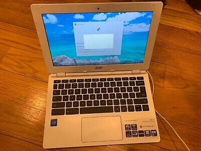 "Acer Chromebook 11 CB3-111-C8UB 11.6"" 16GB Intel Celeron Dual-Core 2.16GHz"