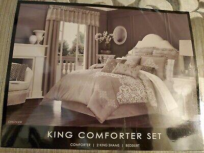J. Queen New York Crestview 4-Piece King Comforter Set