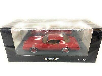 NEO #44125 Chevrolet Camaro LT 1/43 Scale LR