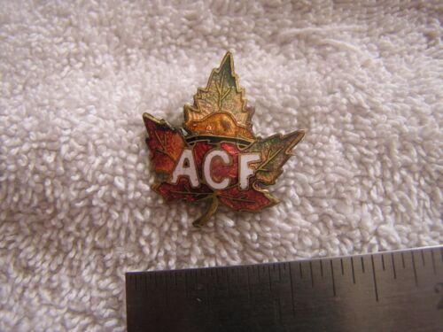 Vintage Antique Enamel  Caron Freres Pin ACF