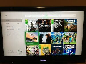 Xbox one with Kinect and many games!